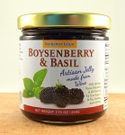 Boysenberry Basil Shiraz Wine Jelly
