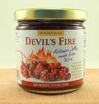 Devil's Fire Zinfandel Wine Jelly  (Red Zinfandel)